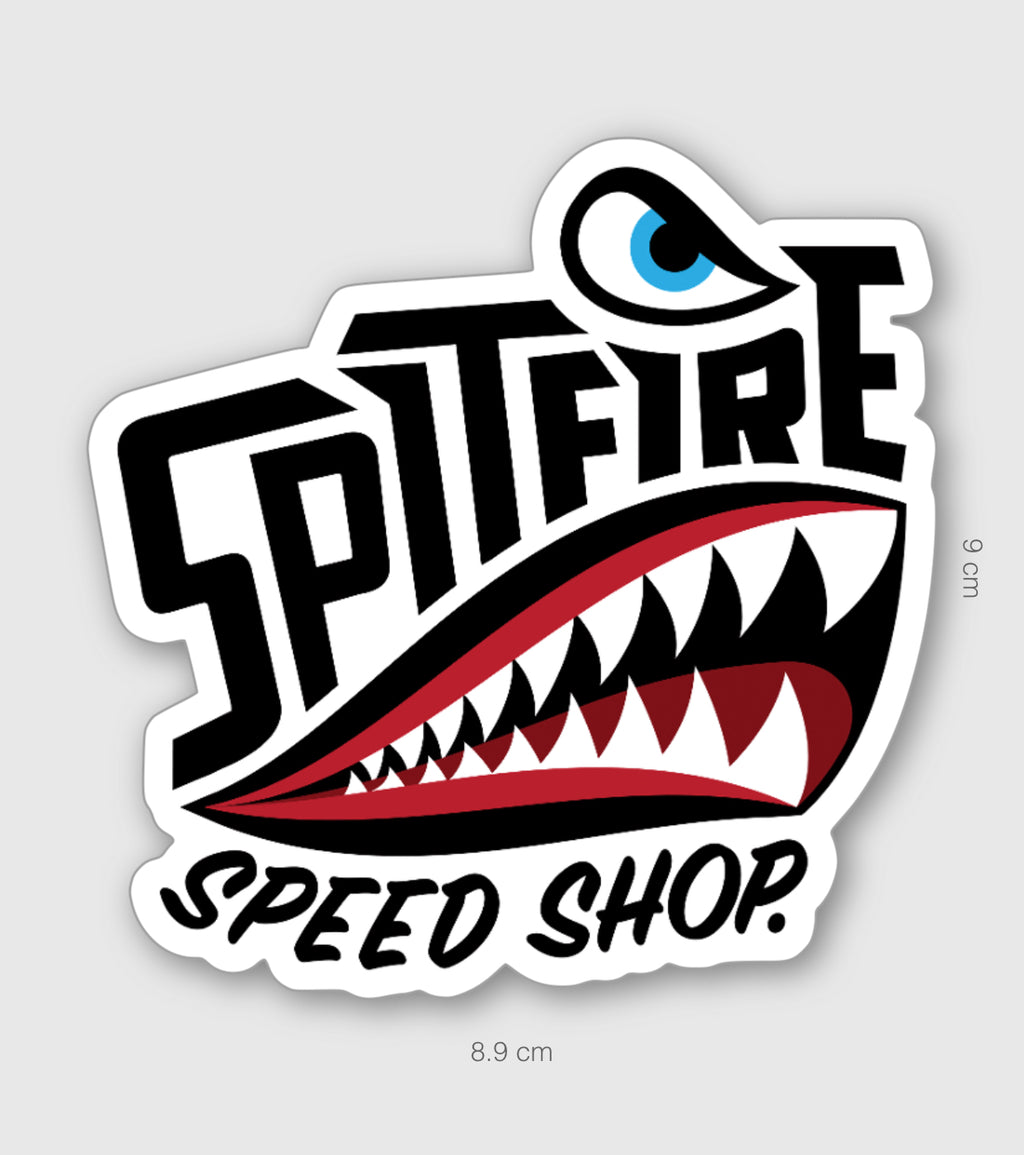 Spitfire Sticker Large