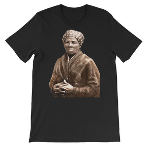 Harriet Tubman Legends Never Die Short-Sleeve Unisex T-Shirt