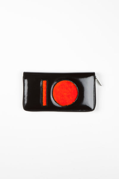 Omega Wallet Black/Orange Popsicle