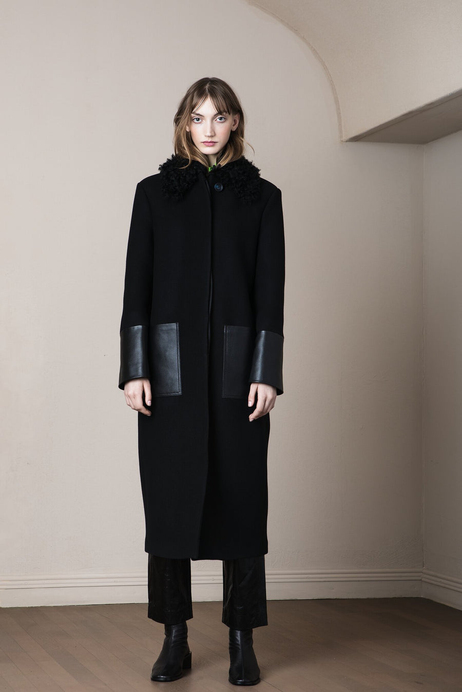 Diana Coat Black