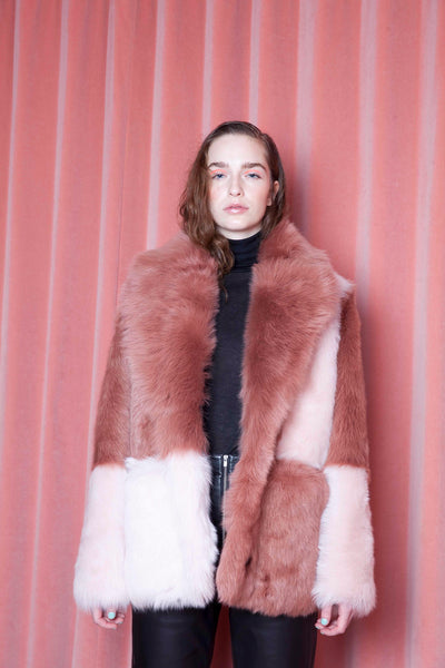Lauryn Coat Blush/Rosewater