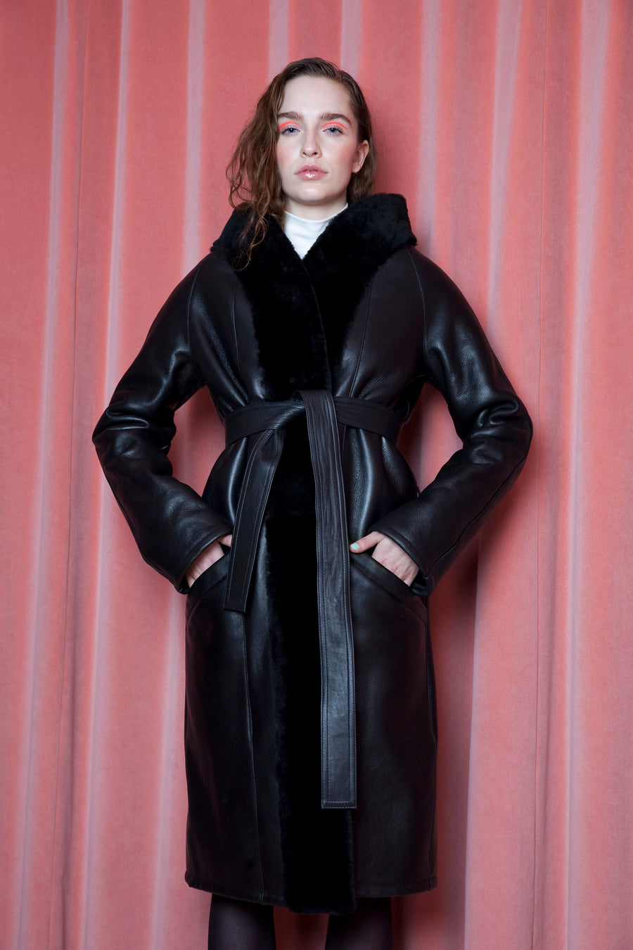 Athena Coat Black