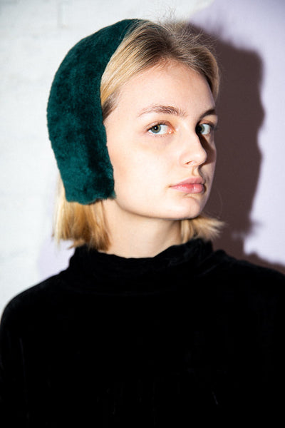 Cleo Headband Emerald Green