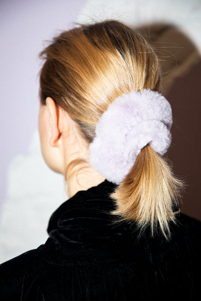 Christy Scrunchie Lavender Merino