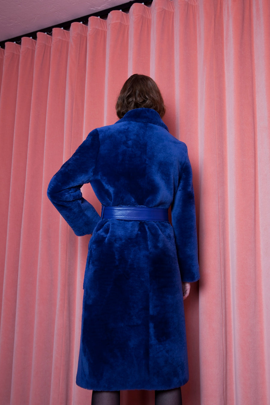 Viktoria Coat Ultramarine