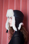 Ladoga Hat Black/Ivory