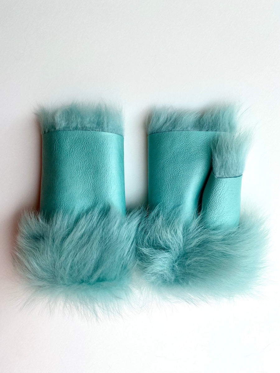 Alexandra Gloves Dusty Aqua