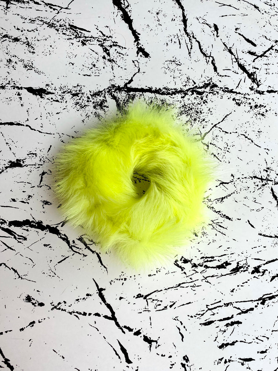 Naomi Scrunchie Acid Yellow