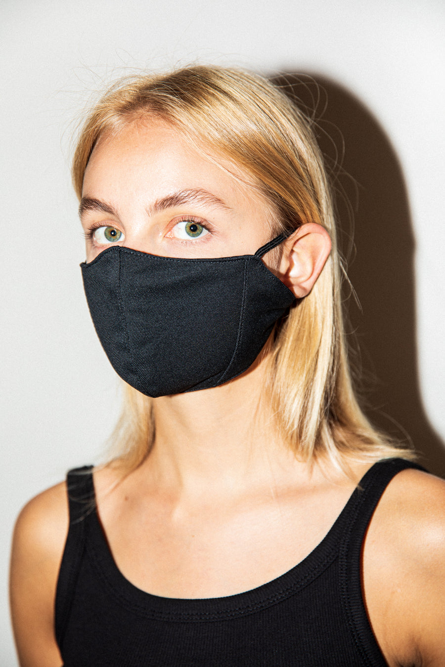 Antibacterial Luna Face Mask Black