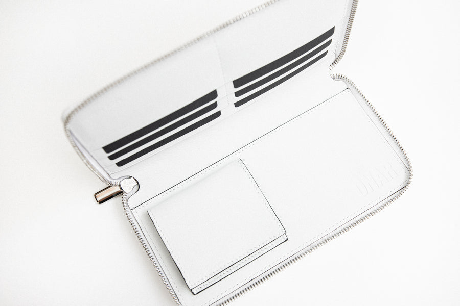 Omega Wallet White/Green
