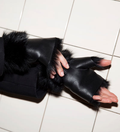 Alexandra Gloves Black