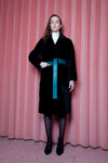 Viktoria Coat Black/Green