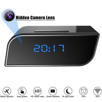 1080P Wireless IP Mini Clock Camera IR Motion Camera