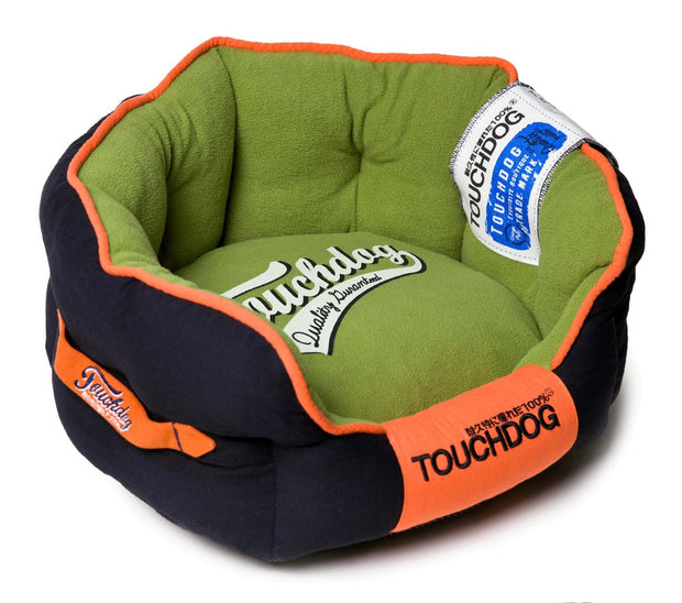 Touchdog Original Castle-Bark Ultimate Rounded Premium Dog Bed - Dog Shop Deals
