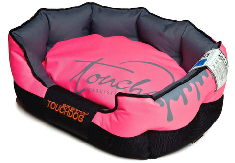 Touchdog Performance-Max Sporty Comfort Cushioned Dog Bed - Dog Shop Deals