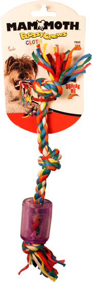 Cloth Squeaky Rope Tpr - Dog Shop Deals