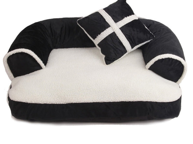 U-COMFORT | Warm Double-Cushion Pet Bed - Dog Shop Deals