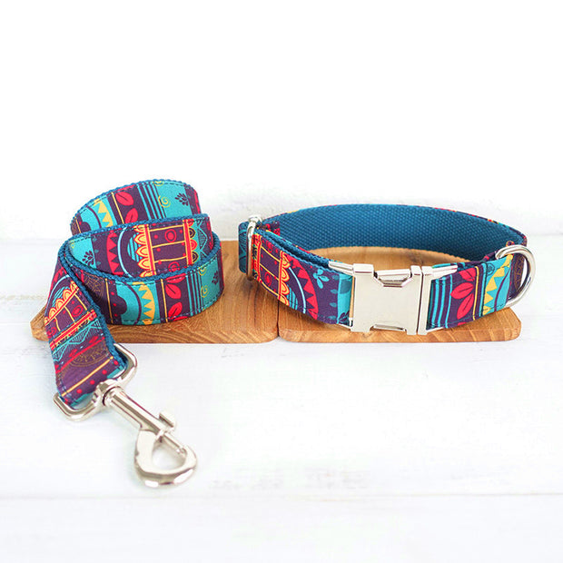THE MAYA Luxury Designer Dog Collars Personalised and Leash - Dog Shop Deals