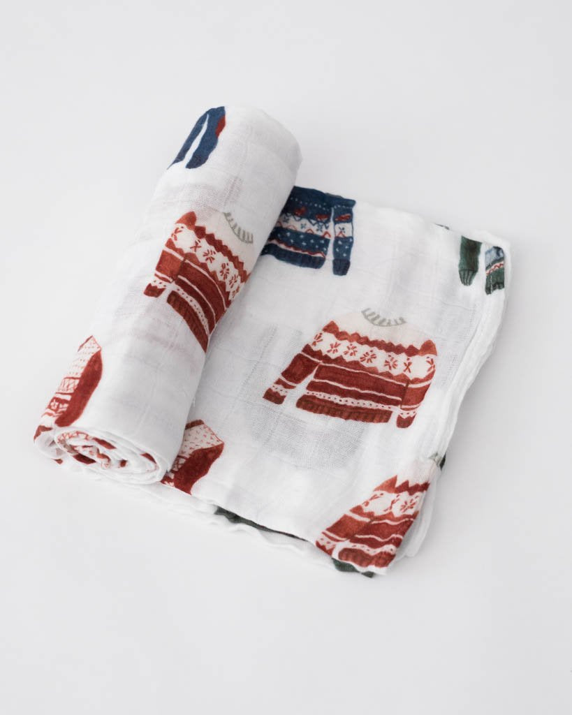 Deluxe Swaddle  - Sweater Soiree
