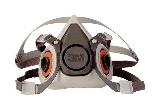 3M Half Facepiece 6100-07024, Small