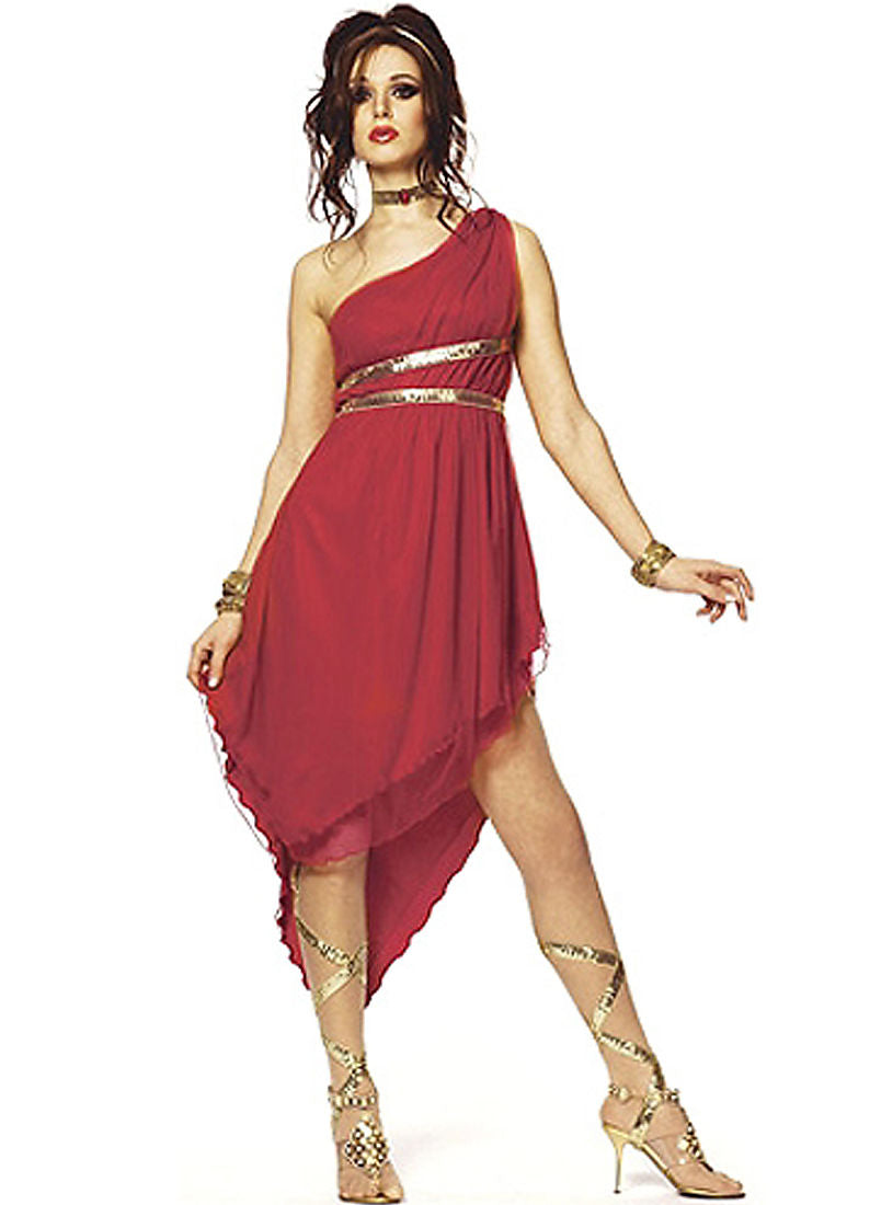 Ruby Goddess Women's Roman Costume