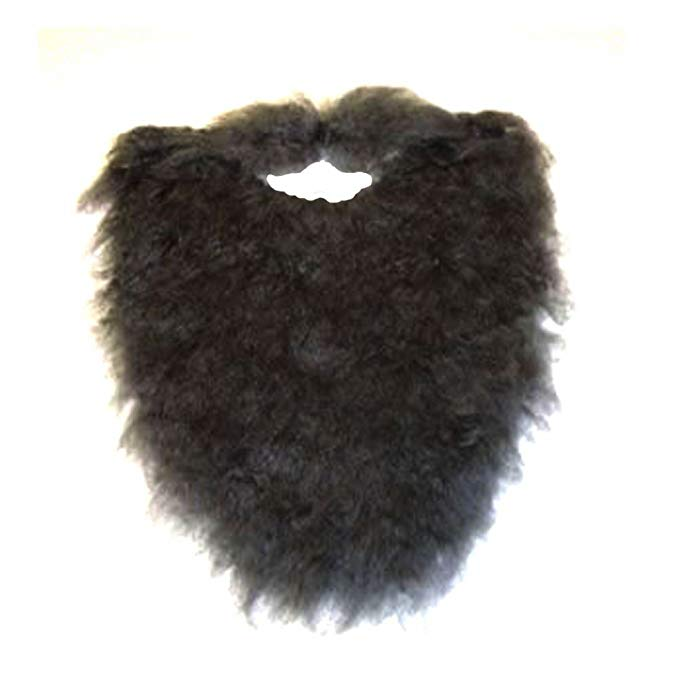 Fake Fur Mustache and Beard
