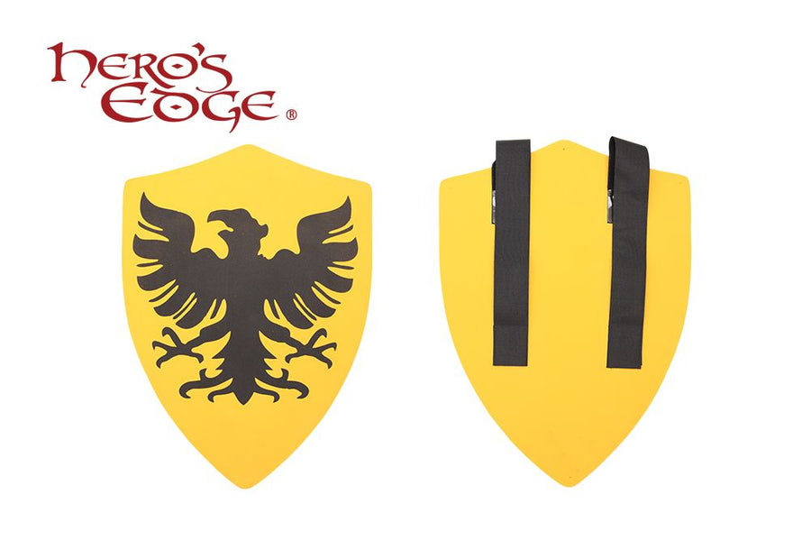 Hero's Edge Medieval Crusader Eagle Foam Shield for Cosplay and Larp