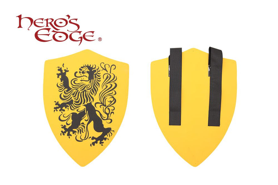 Hero's Edge Medieval Lion Heater Foam Shield for Cosplay and Larp