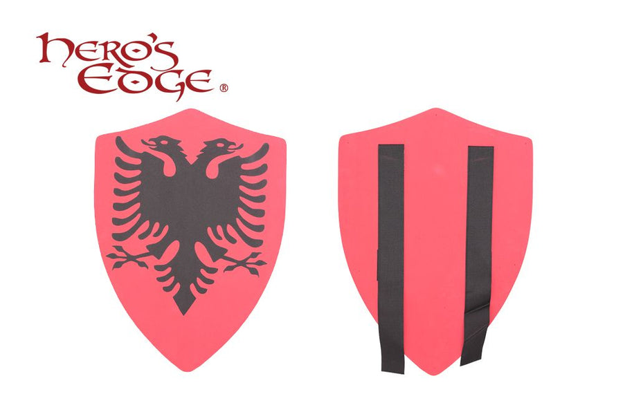 Hero's Edge Medieval Double Egle Foam Shield for Cosplay and LARP