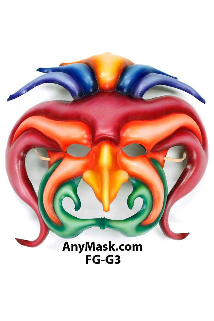 Emperor of the Sun Leather Mask