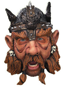 Viking Warrior - Adult Vinyl Chin-Strap Mask
