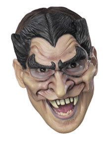 Vampire Adult Vinyl Chinless Mask