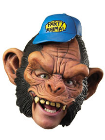 Party Animal - Vinyl Full Chin-Strap Mask