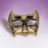 Small Brown Venetian Mask