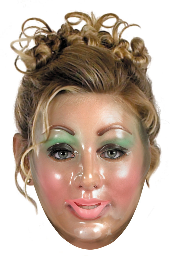 Transparent Young Woman Adult Mask