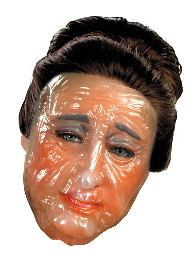 Transparent Old Woman Adult Mask