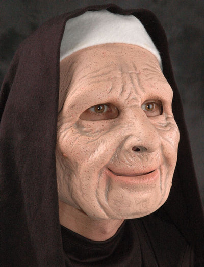 Nun For You Adult Full Latex Mask
