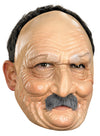 Old Man Adult Vinyl Mask