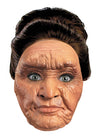 Wrinkled Woman Vinyl Adult Mask
