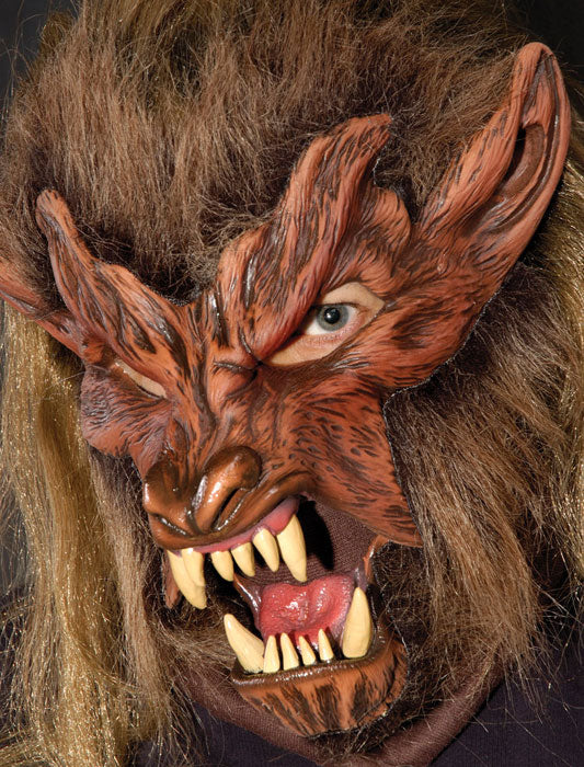 Lone Wolf Full Adult Latex Mask