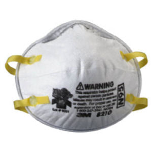 3M N95 Particulate Respirator Mask 8210 box 20