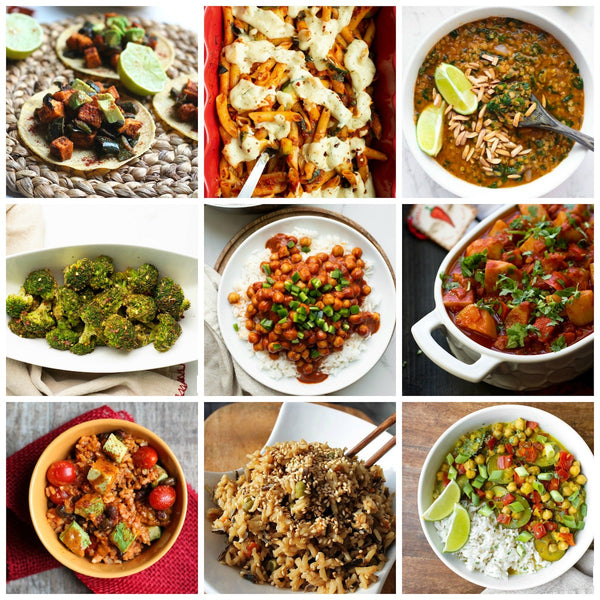 Vegetarian Meal Plan - Week to Week