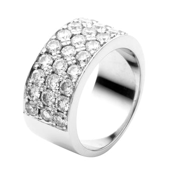 18CT DIAMOND WRAP RING