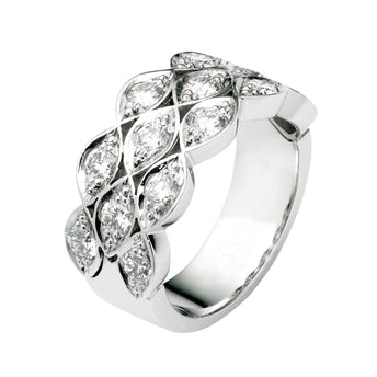 18CT DIAMOND CIENEGA RING