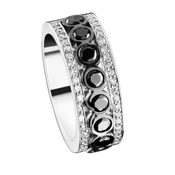 18CT DIAMOND LE NOIR RING