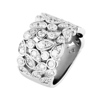 18CT DIAMOND BARCELONA RING