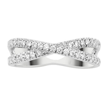 18CT DIAMOND FREYA RING