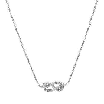 18CT DIAMOND INFINITO PENDANT