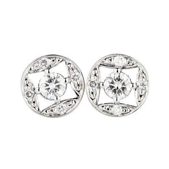 18CT DIAMOND CIENEGA EARRINGS