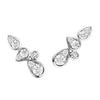 18CT DIAMOND BARCELONA LONG STUD EARRINGS